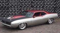 1970 Plymounth Cuda Foose Design Based Custom Modified.