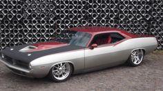1970 Plymounth Cuda Foose Design Based Custom Modified.