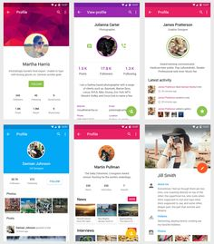 Material Design UI for mobile app #MaterialDesign