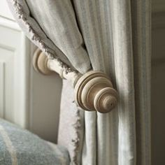 Complete the look in your room with our wooden curtain holdback. The perfect complement to any of our wooden curtain poles and handmade curtains.Please note item includes 1 curtain holdback only. Lounge Curtains, Cute Curtains, Drapes Curtains, Bedroom Curtains, Drapery, Curtain Holdbacks Ideas, Curtain Ideas, Moroccan Curtains, Moroccan Bedroom