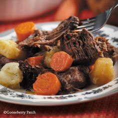 Gooseberry Patch Recipes: The Best Pot Roast Ever from 101 Hearty Recipes Cookbook