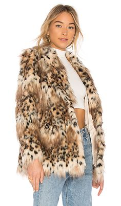 Shop for MAJORELLE Faux Fur Stella Coat in Snow Leopard at REVOLVE. Free 2-3 day shipping and returns, 30 day price match guarantee.