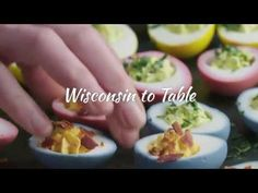Eggcellent Deviled Eggs on this episode of Eat Wisconsin Cheese #WI #Recipes