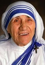 Mother Tersea...the only famous person that didn't try or want to be famous...just a good person.