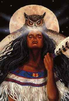 Owl medicine is a feminine trait and is symbolically associated with… American Indian Art, Native American History, Native American Indians, Animal Spirit Guides, My Spirit Animal, Magia Elemental, Native American Spirituality, Animal Medicine, Power Animal