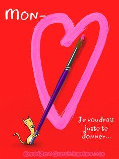 28 best saint valentin 2015 images saints heart of love cart - Coeur a imprimer gratuitement ...