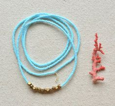 Tumble Necklace >> Awesome for summer, makes me want to go on vacation!