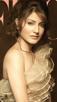 The lovely Anushka Sharma.