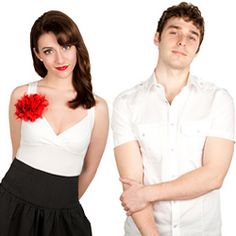 Amy and Nick from Karmin! Possibly the cutest couple I've ever seen and Amy can rap!