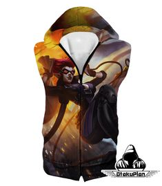 ae4865fa97d8 League of Legends Thieves Evelynn Hooded Tank Top LOL107  anime  animeart   stuff  animelover  comic  animeboy  merchandise