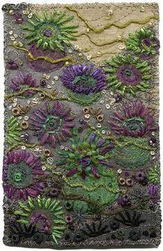 embroidery by Kirsten Chursinoff - stunning!