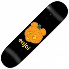 Enjoi Skateboards Pumpkin Spice Skateboard Deck 8.0""