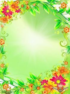 Summer flower photo frame 2012 with beautiful green leafs borders and shini . Frame Border Design, Boarder Designs, Page Borders Design, Framed Wallpaper, Flower Wallpaper, Frame Background, Paper Background, Picture Borders, Disney Frames