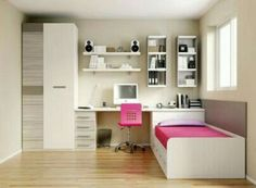 15 Lovely Small Bedroom Ideas that Boost Your Freedom #bedroom #bedroomdecor #bedroomdesign