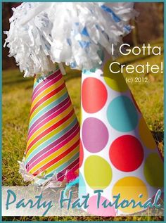 DIY easter crafts DIY Party Hat DIY easter crafts