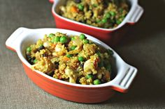 Quinoa Vegetable Biryani Bake by Delectably Free