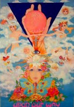 """The Fool"" Les Beatles et la Mode - Moïcani - L'Odéonie Acid Art, Les Beatles, Vinyl Cover, New Age, The Fool, Vintage Posters, Psychedelic, Mystic, Art Gallery"