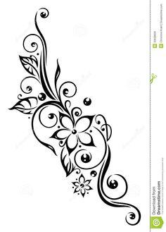 tribal lotus flower tattoo - Google Search