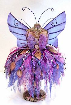 Faerie Couture - Doll Street Dreamers -online doll classes, e-patterns, mixed media art classes, free doll patterns and more