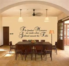 Dining Room Vinyl Wall Quotes - The Best Image Search