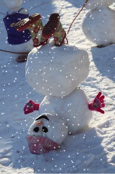 Found this snowy winter pic on Google Plus just thought it was funny and worth pinning