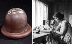THE EVOLUTION OF BIRTH CONTROL - The Scottish-born Dr. Marie Stopes (1880-1958) was a leading advocate of birth control in the early 20th century. In 1918 Stopes wrote a guide to contraception called Wise Parenthood. In the face of opposition from the church she founded the Society for Constructive Birth Control and opened the 1st of her birth-control clinics in Holloway in N.London in 1921. The image shows Stopes working in the laboratory, where she helped to modify the contraceptive cap.