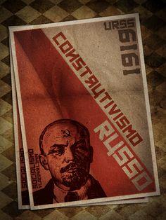 Construtivismo russo by Vicente Jr., via Behance