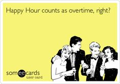 A case for happy hours — like you needed more excuses anyway! #agencylife #worklifebalance