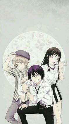 Norigami | Yato, Yukine and Hiyori