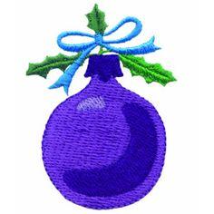 Christmas Ball Embroidery Design | AnnTheGran
