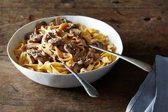 Creamy Mushroom Pasta, a recipe on Food52 Creamy Mushroom Pasta, Creamy Mushrooms, Stuffed Mushrooms, Mushroom Sauce, Mushroom Stroganoff, Mushroom Chicken, Beef Stroganoff, Chicken Pasta, Grilled Chicken