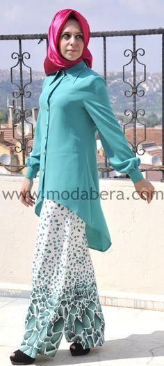 #nesekahramanturk #yesil #tesettur #turban #tunik #hijab #modabera