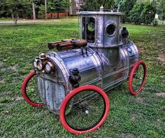 Steam Mobile - Courtoisy of Hatton Cross Steampunk #Design #Sculpture