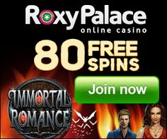 Free Spins offer on Immortal Romance
