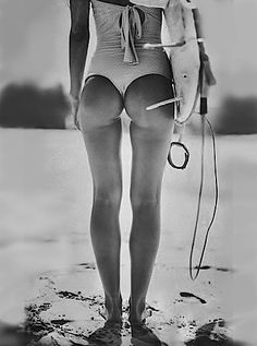 Surfing Girl , Follow me ...........to the sea