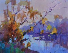 ARTFINDER: morning hush by Alexander Shandor - 2015  oil on canvas  60х80