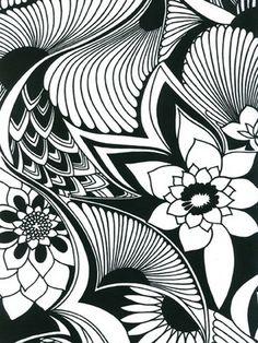 Florence Broadhurst design, Aubrey from Signature Prints.