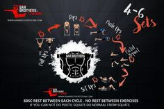 bar brothers calisthenics workout routine