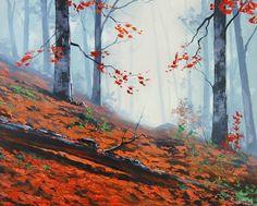 Pinturas do AUwe: As mais belas pinturas de paisagem pintada por Gra...