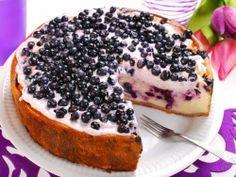 Blueberries Cake Wallpaper