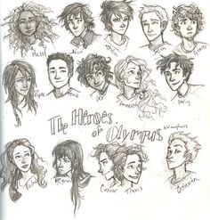 the Heroes of Olympus by burdge-bug.deviantart.com on @deviantART
