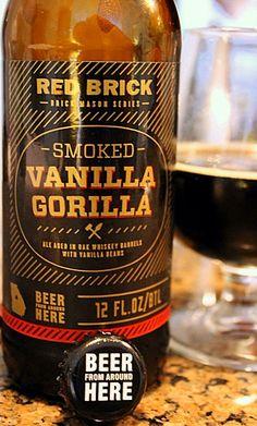 Red Brick's Vanilla Gorilla Porter