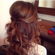 Half up half down wedding hairstyles More