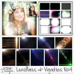 <p> Lensflares & Vignettes No4 by NBK-Design</p>