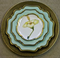 Romantic Pastels Dinnerware by Anna Weatherley | Gracious Style