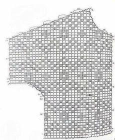 Débardeurs Au Crochet, Crochet Carpet, Crochet Tote, Crochet Borders, Crochet Stitches Patterns, Crochet Blouse, Crochet Bikini, Stitch Patterns, Knitting Patterns
