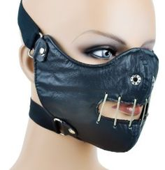 Hannibal Lector Motorcycle Mask Horror Halloween Cosplay