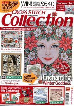 Cross Stitch Collection 204 décembre 2011. Обсуждение на LiveInternet - Российский Сервис Онлайн-Дневников