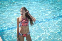 Stunning girl from Natalieastyle Blog gets hot on Spring Break in Bikini Village's bikini.  Shop the style.