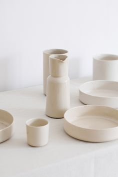 Simple stoneware by